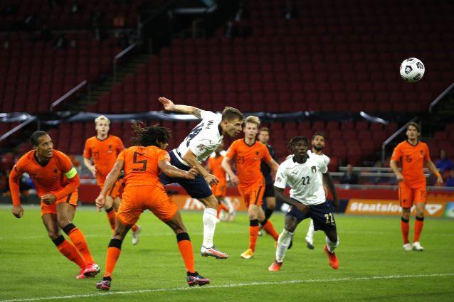 Il match di andata tra Olanda e Italia (Lapresse)
