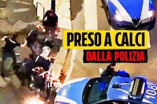 Milano, poliziotto prende a calci un arrestato: la procura acquisisce i video di Fanpage.it