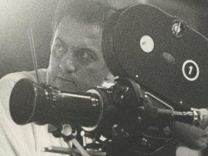 Il regista Federico Fellini