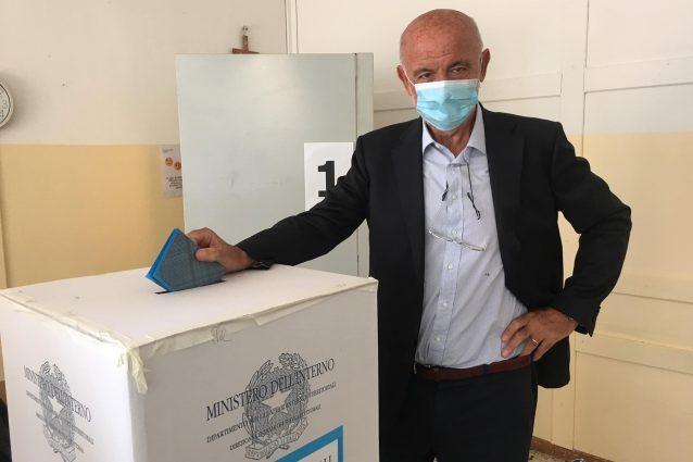Il candidato sindaco Franco Brumana (fonte: Facebook)