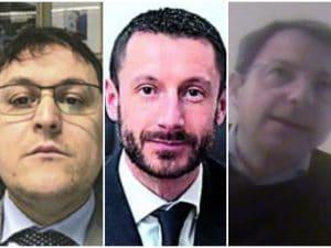 I tre commercialisti arrestati per la vicenda della Lombardia film commission