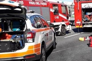 Milano, sbaglia casello in autostrada e si schianta contro la barriera di cemento: grave un 45enne