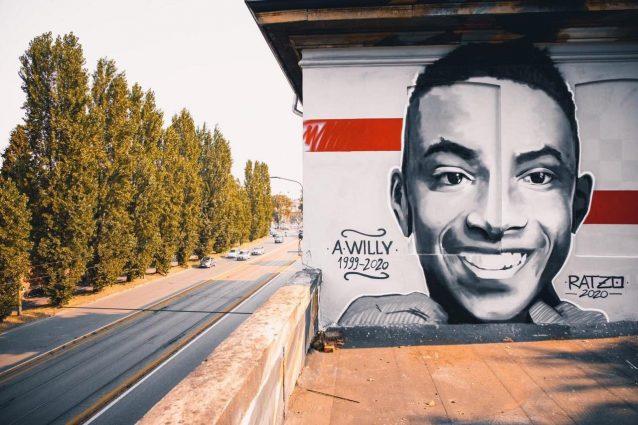 Una foto del murale dedicato a Willy, il giovane ucciso a Colleferro (Fonte: Facebook)