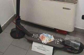 Milano, spacciava a bordo di un monopattino con la cocaina nascosta nella mascherina: arrestato
