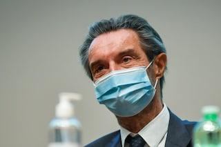 """Coronavirus, Fontana: """"Lockdown in Lombardia? La decisione spetta al governo"""""""