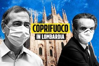 Milano, seconda notte di coprifuoco: strade vuote e persone a casa