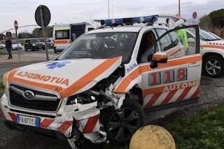 Milano, incidente stradale coinvolge automedica per prelievo organi: 4 feriti, grave un medico