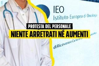 """Istituto Europeo di Oncologia, protestano i lavoratori: """"Eroi, ma nessun riconoscimento economico"""""""