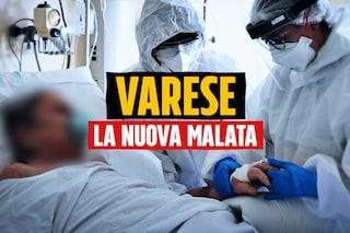 """Coronavirus, Varese supera i 600 ricoveri e 40 in terapia intensiva: """"Un'emergenza senza precedenti"""""""