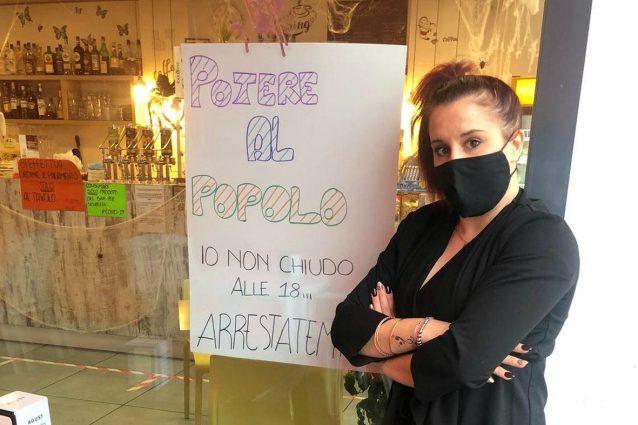(Chiara Casantello, 28 anni, proprietaria del New Diego Caffè di Rovato, in provincia di Brescia)