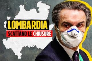 """Nuove restrizioni in Lombardia, Fontana: """"Scuola, chiediamo didattica a distanza parziale"""""""