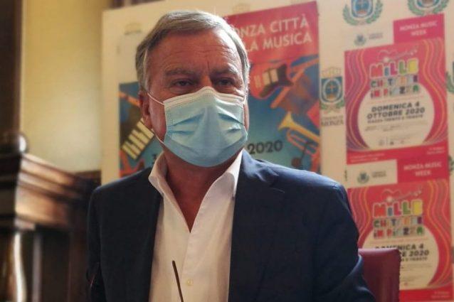 Il sindaco di Monza Dario Allevi