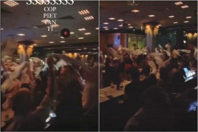 Le immagini della festa di universitari (Fanpage.it)