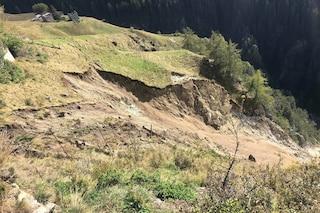 Frana a Sondalo, evacuati i 23 abitanti della frazione di Fumero