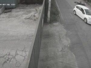 Il frame del video dell'incidente di Segrate (Fonte: Facebook)