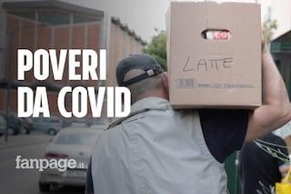 """Crisi da Covid a Milano, il pizzaiolo che distribuisce pacchi alimentari: """"Ho visto la povertà vera"""""""