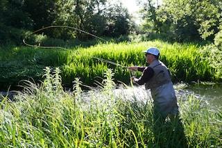 Da Brescia a Cremona per pescare e con l'autocertificazione in tasca: multate due persone