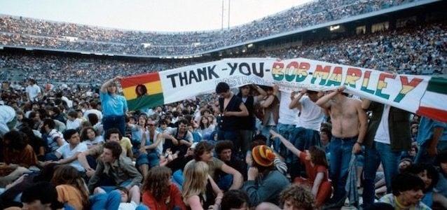 Il celebre concerto di Bob Marley a San Siro