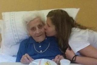Per tre volte positiva, a 101 anni nonna Maria ha sconfitto il Covid