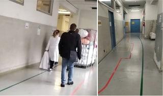 Ospedale San Carlo, sindacato denuncia: percorsi tra pazienti Covid e non contagiati troppo vicini