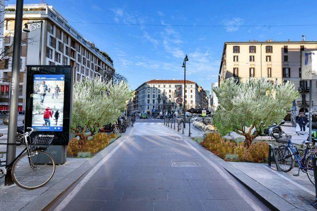 Le aree interessate dal progetto di riqualificazione a Milano