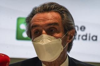 """Lombardia, Fontana: """"Con la zona rossa scuole superiori in didattica a distanza al 100 per cento"""""""