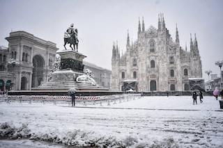 Previsioni meteo Milano 1° gennaio, torna la neve in città: temperature fino a -2 gradi