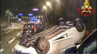 Incidente sulla superstrada a Bellano, auto si schianta contro un muro in galleria: morto un uomo