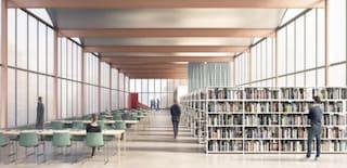 Milano, scaffali aperti e sale studio: ecco la biblioteca del futuro nel quartiere di Lorenteggio