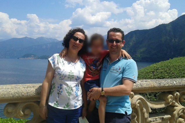 La famiglia del piccolo Marco morto nell'incidente del 15 agosto 2018