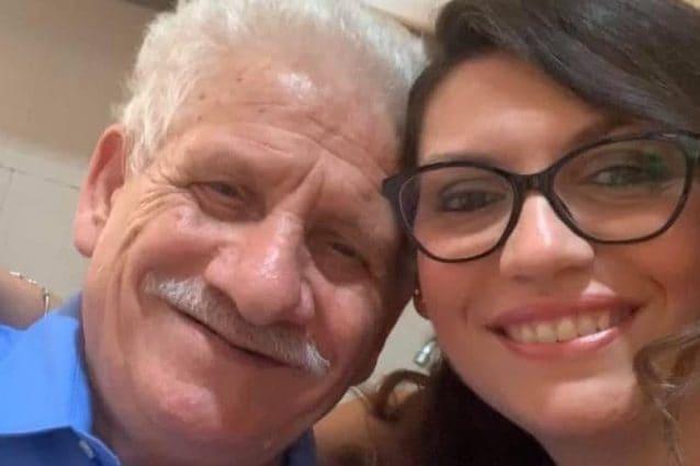 Morena Vinci e il padre