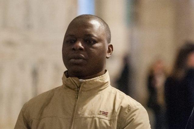 Adam Kabobo al processo d'appello