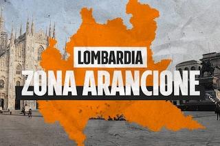 Da oggi la Lombardia è zona arancione: ecco cosa cambia