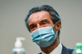 """Lombardia, domani iniziano vaccini vicino zone arancioni. Fontana: """"Chiederemo a Governo più dosi"""""""