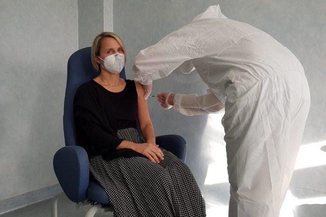 La Dott.ssa Agostina De Stefani, Dir. UOC Radioterapia