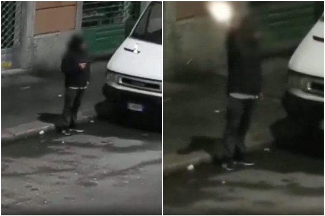 Capodanno di follia a Milano, ragazzo impugna una pistola e spara in strada