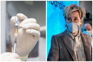 Letizia Moratti dice che giovedì la Lombardia supererà i 5 milioni di vaccini somministrati
