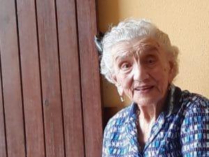 Angela Ciapelletti, la nonna di Capralba scomparsa a 104 anni (Foto Facebook)