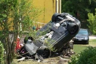 Cernobbio, perde il controllo dell'auto e precipita in un cantiere: muore un uomo di 60 anni