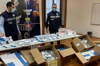 Milano, i Nas sequestrano oltre 64.000 farmaci illegali destinati alla cura del Covid a Chinatown