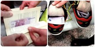 Malpensa, 50mila euro nascosti nelle scarpe e in un libro: nei guai due uomini diretti a Dubai