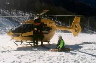 Tragedia sfiorata in montagna, si stacca neve e ghiaccio dal monte Torena: feriti tre alpinisti