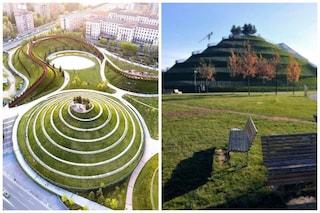Milano, al Portello diecimila metri quadrati di nuovo verde nel parco Alfa Romeo