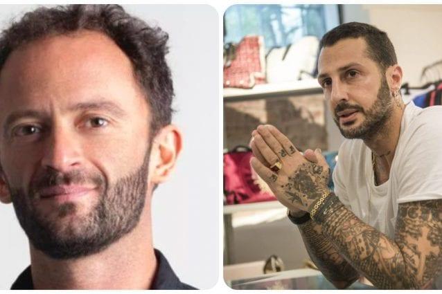 Alberto Genovese e Fabrizio Corona