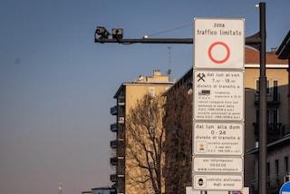 """Milano, restano spente le telecamere di Area B e C: """"Situazione sanitaria ancora troppo instabile"""""""