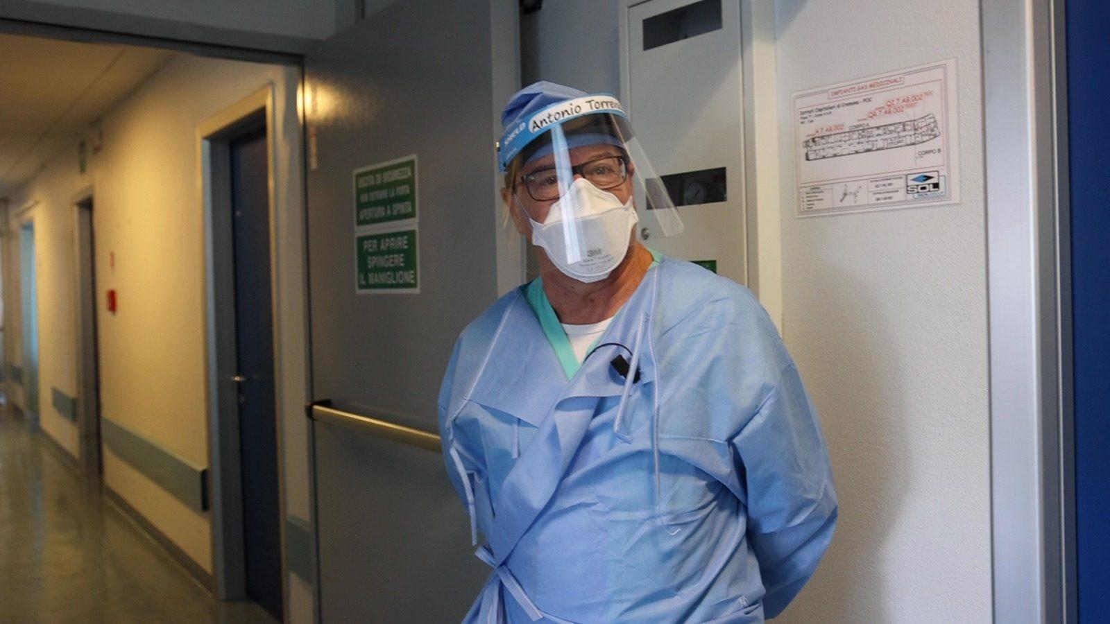Il dottor Antonio Coluccello (Foto: Giancristofaro)