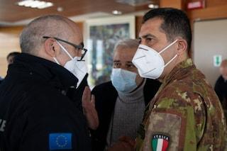 Il generale Figliuolo e il capo della Protezione Civile visiteranno i centri vaccinali in Lombardia