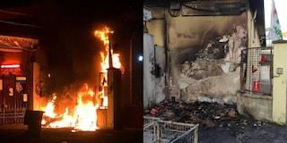 Incendiata la sede di un'associazione di soccorso impegnata contro il Covid a Milano