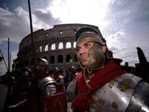 I festeggiamenti per il Natale di Roma.