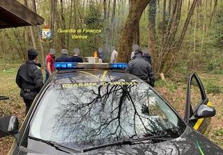 Grigliata abusiva nei boschi di Cantello per festeggiare un compleanno: dieci persone multate